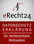 Datenschutzerklärung eRecht24