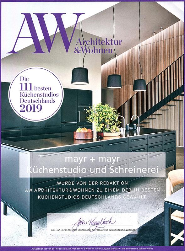 Auszeichnung Architektur und Wohnen 2019